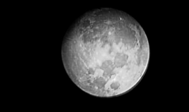 Luna creciente casi llena