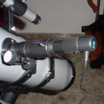 El telescopio con el ocular digital